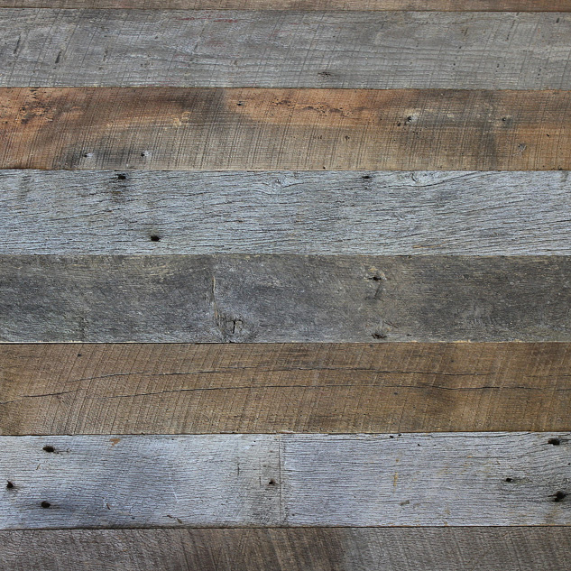 Weathered Wall Paneling : Reclaimed and recycled paneling