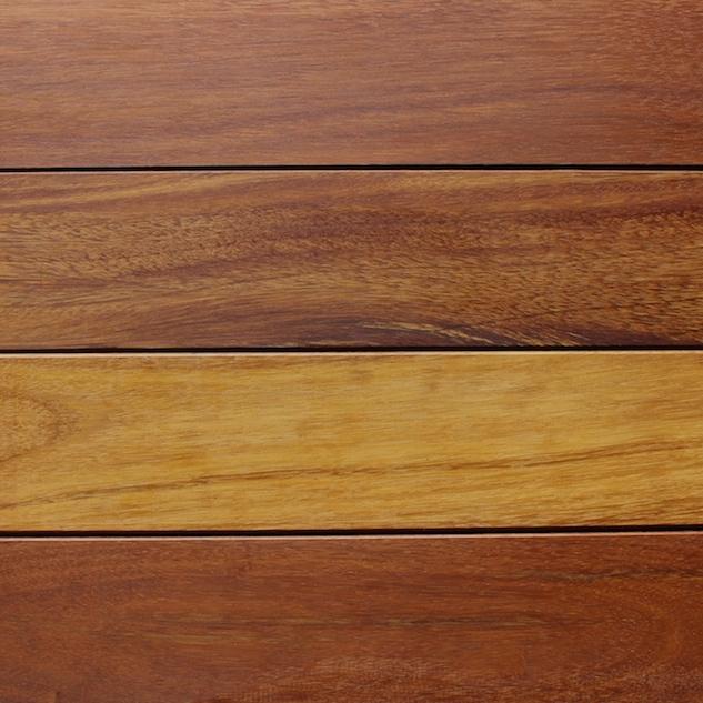 Reclaimed mora decking for Terramai flooring