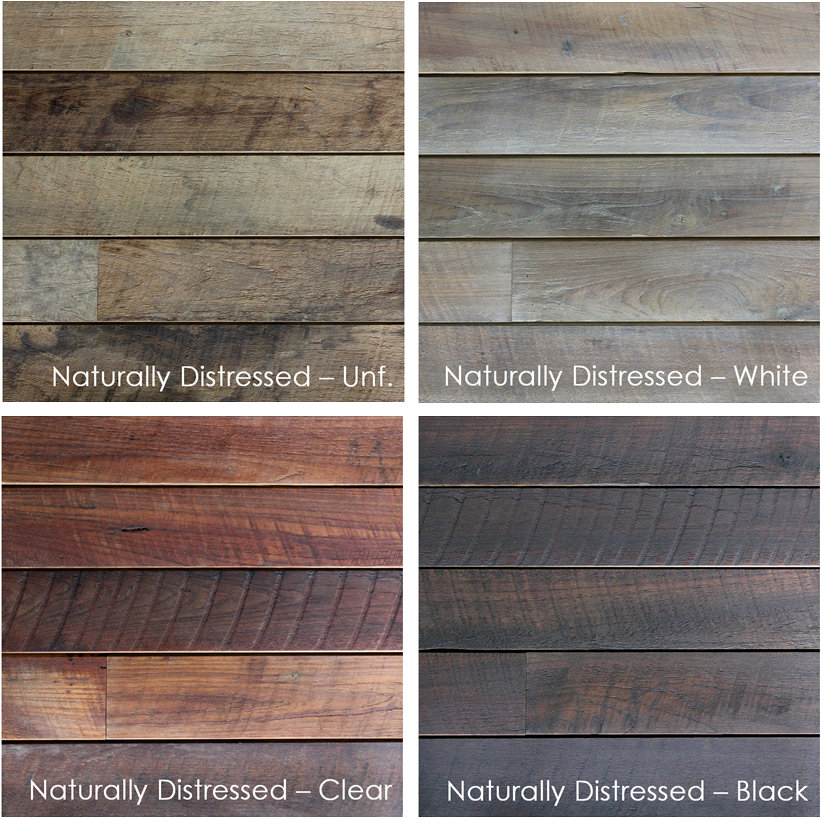 Terramai Reclaimed Wood Siding Materials