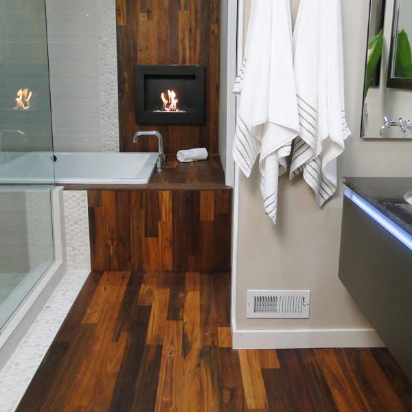 Reclaimed Teak Bathroom