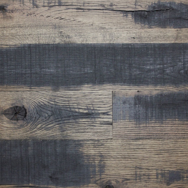Reclaimed DARK HORSE PANELING - BLACK OIL