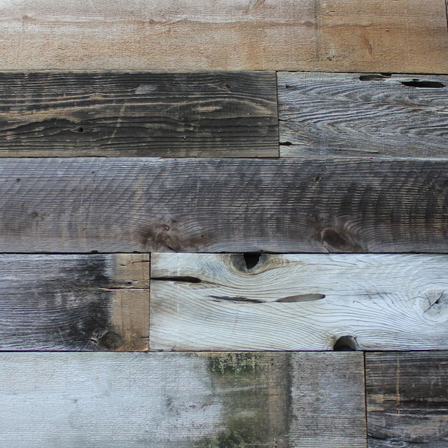 Reclaimed LOST COAST REDWOOD PANELING - SIMPLY WEATHERED