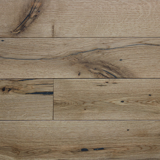 Reclaimed MISSION OAK WHITE ENGINEERED FLOORING & PANELING - POLY FINISH