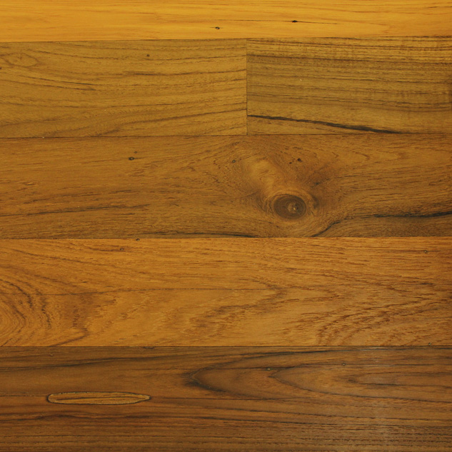 Reclaimed and recycled wood paneling
