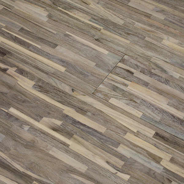 Reclaimed teak metro wire white flooring for Terramai flooring