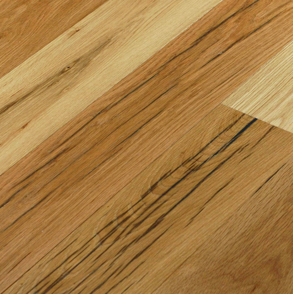 Reclaimed RECLAIMED MISSION OAK ENGINEERED FLOORING - 6-3/8""