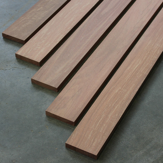 Reclaimed Ekki Lumber