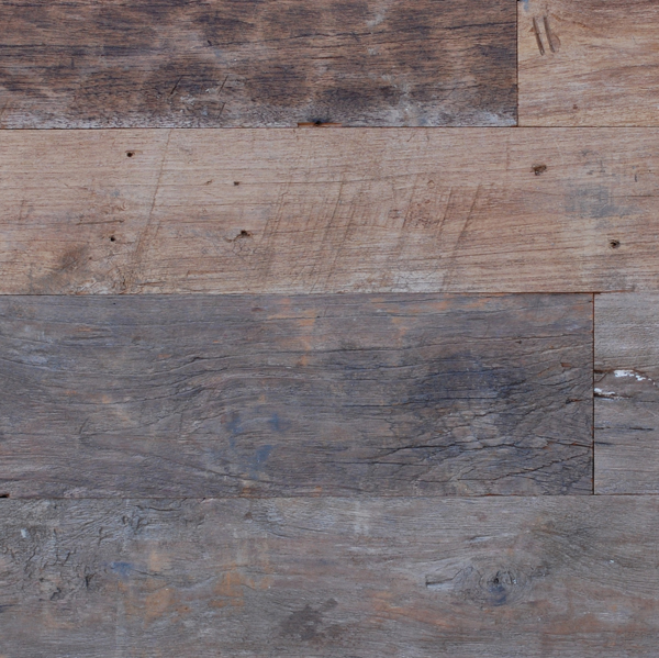 Reclaimed TEAK LUMBER - WEATHERED PLANKS
