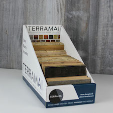 Reclaimed wood library boxes terramai for Terramai flooring