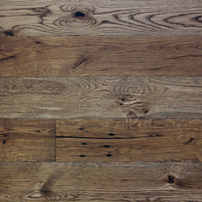 Reclaimed Mission Oak Dark Oil Flooring and Paneling