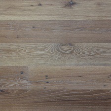 Reclaimed Mission Oak Engineered Flooring - White Oil