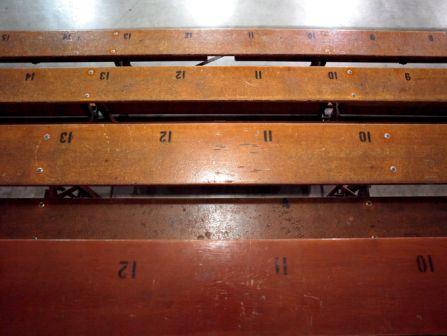 Reclaimed Reclaimed Bleacher Stock Lumber