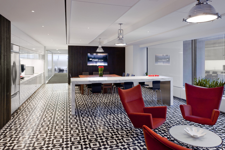Hbo Corporate Offices Reclaimed Raven Oak Paneling By