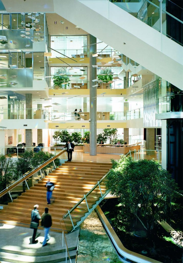 Biophilic design at Genzyme Building