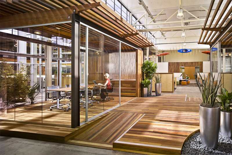 Clif Bar HQ is resplendent with biophilic design