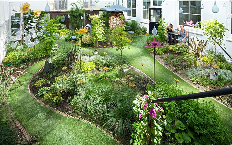 This is what biophilic design looks like in real life for Garden design principles