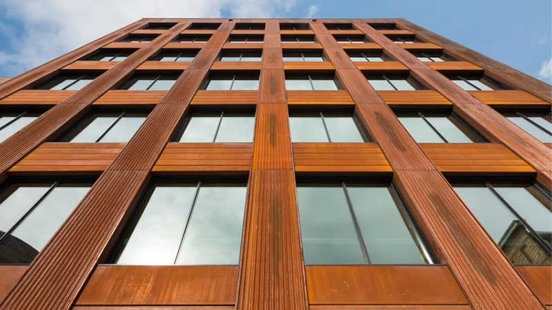 Wood Facade Michael Green T3 Building