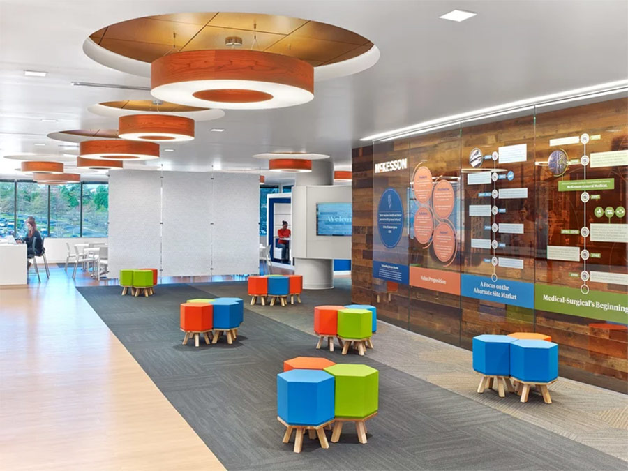 McKesson's Richmond office biophilic design