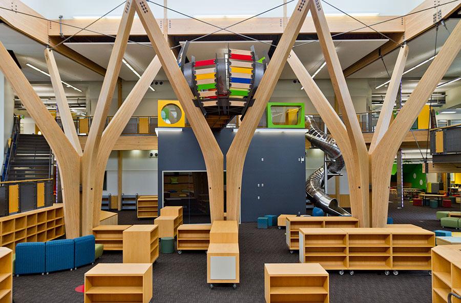 Trillium Creek Primary School incorporates experiential architecture