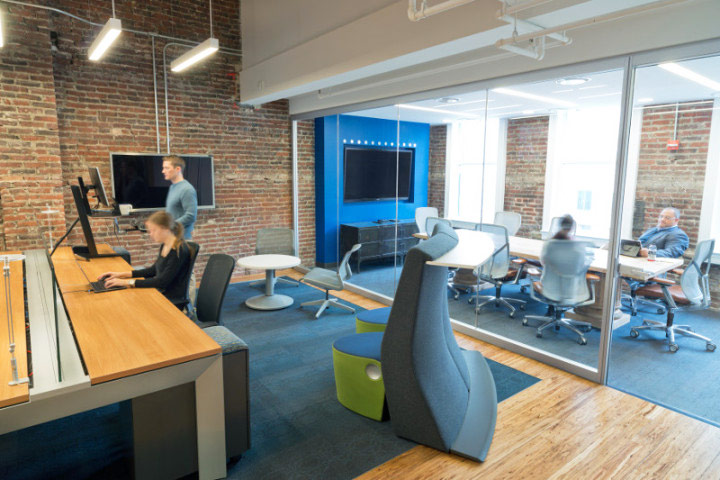 Allsteel's DC office boasts acoustic comfort