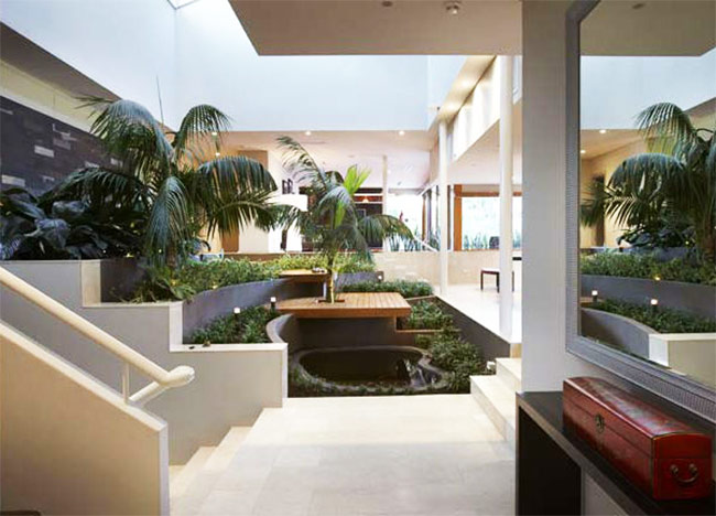 Biophilic indoor environment