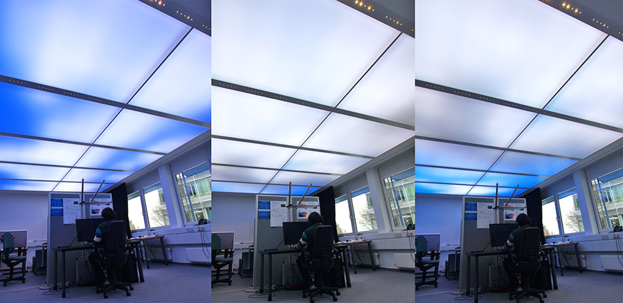 LED Continuous Lighting provides circadian-based light exposure