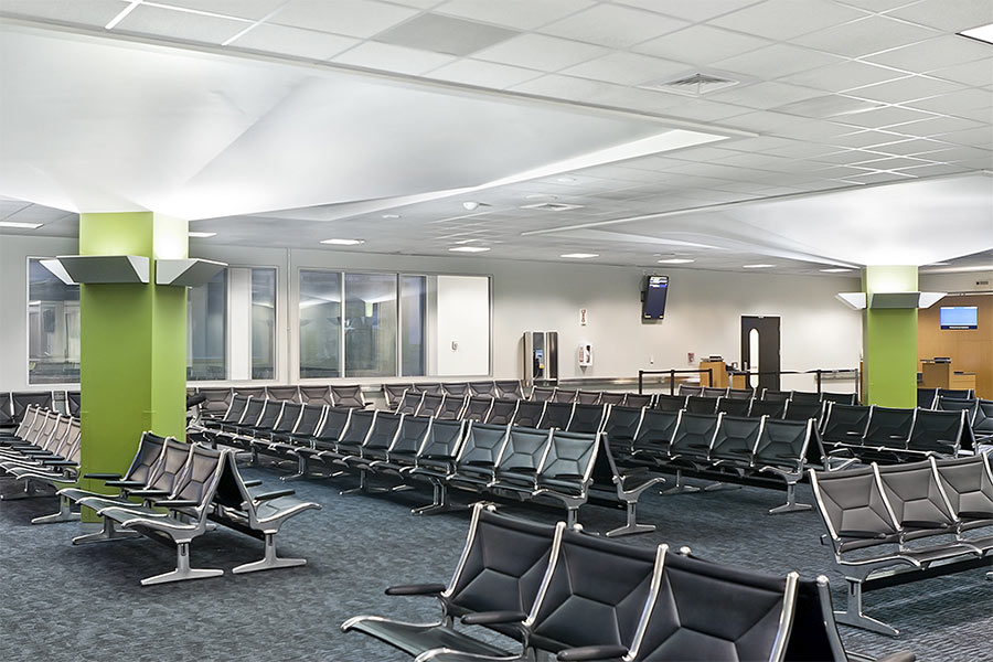Low-VOC materials make Oakland Airport better for travelers