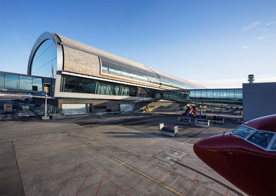 Oslo Airport's new sustainable extension