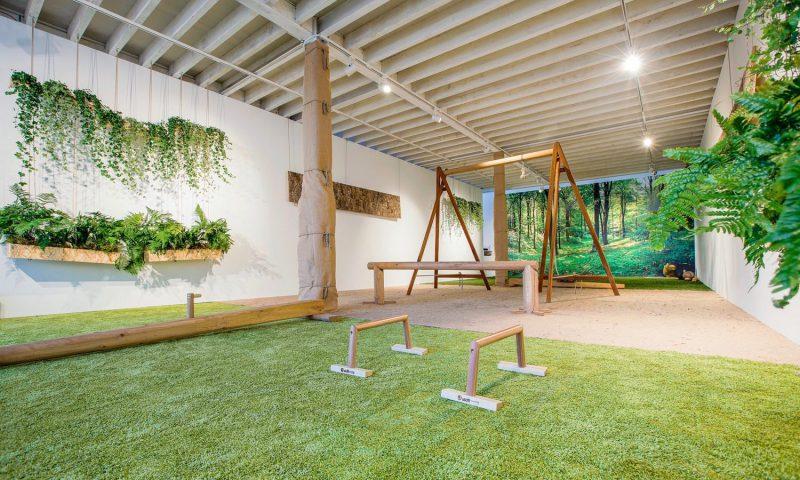indoor biophilic gym