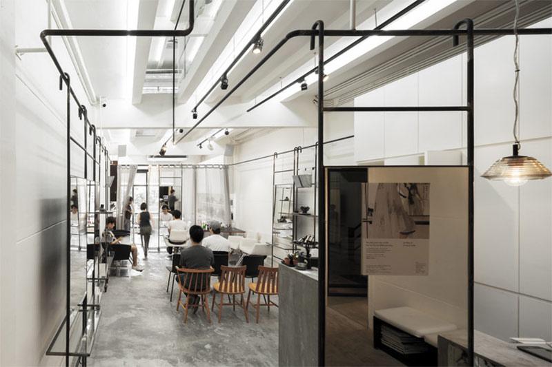 BOY Siam Square Salon modular rail design