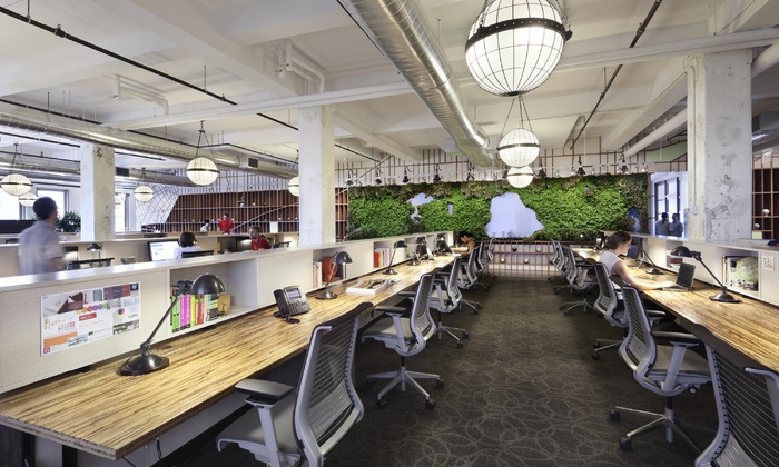 Biophilic spaces are a hotspot for social interaction