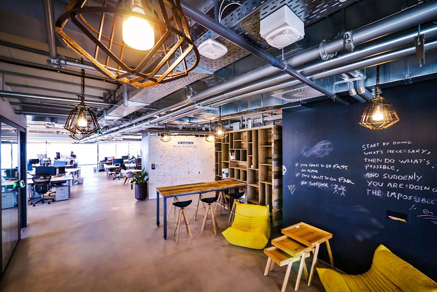 Facebook's Tel Aviv office was designed to boost worker health and collaboration