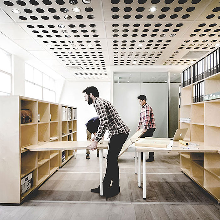 Modular office allows work to happen anywhere