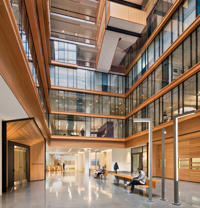 Perkins+Will uses sustainable materials at their San Francisco HQ