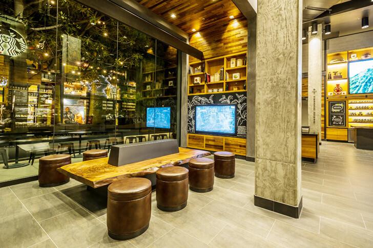LEED certified Starbucks near Disney
