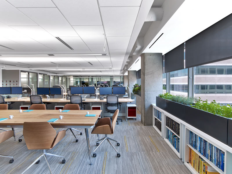 ASID commercial office received both WELL Certification and LEED Certification