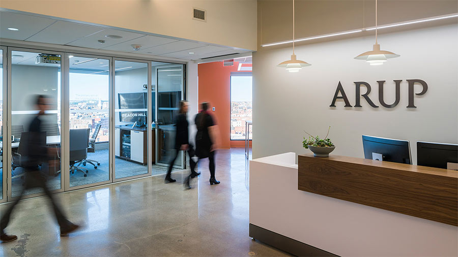 Arup's office recieved WELL Gold Certification