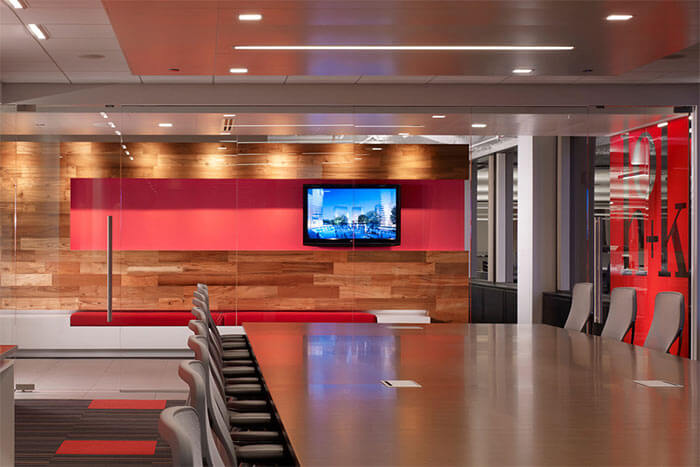 HOK's Chicago office is LEED certified