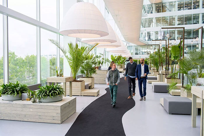Deloitte's The Edge building is one of the most sustainable offices in the world