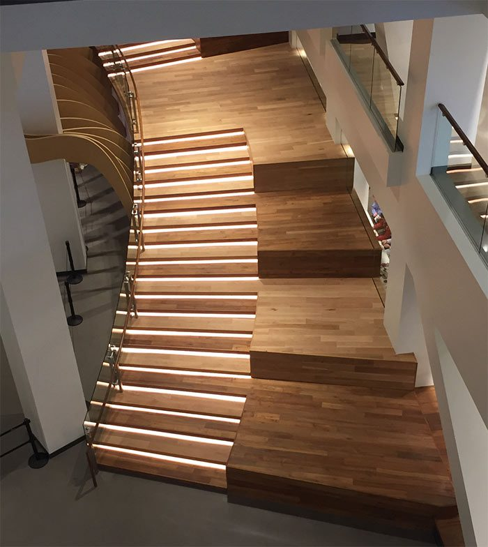Rethinking The Humble Stair Tread 8 Reclaimed Wood Stair