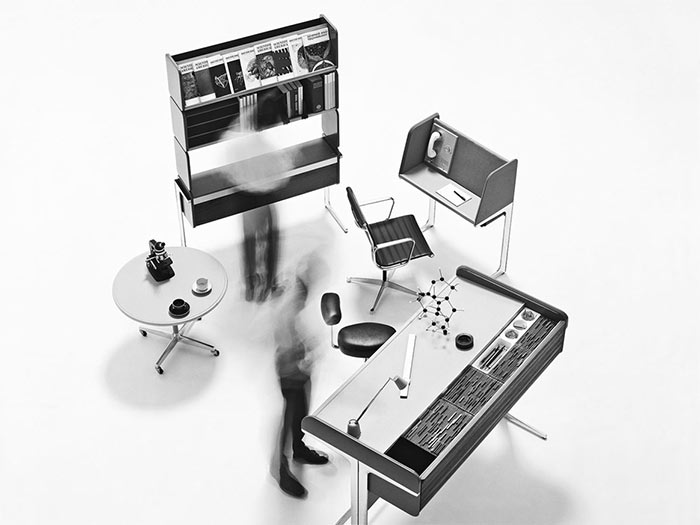 1960's office of the future
