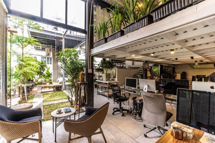 The Serene House HCMC is a flexible prefab built for multipurpose use