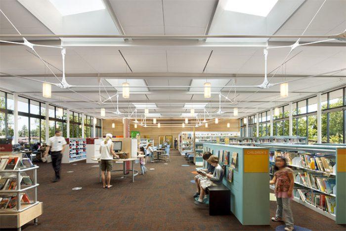 Kenmore Public Library Interior
