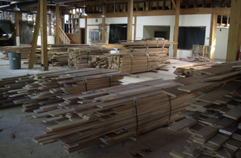 recycled doug fir flooring