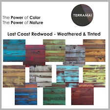 Reclaimed Weathered Lost Coast Redwood Tinted