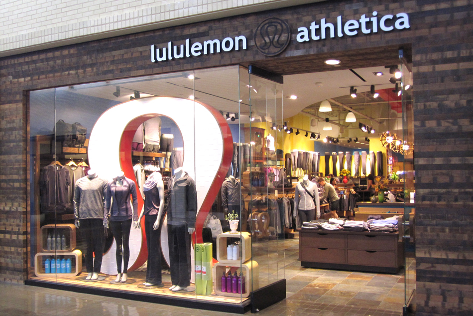 Reclaimed World Mix exterior on Lululemon store in Dallas