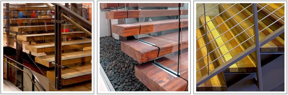 Reclaimed Wood Stair Treads I TerraMai