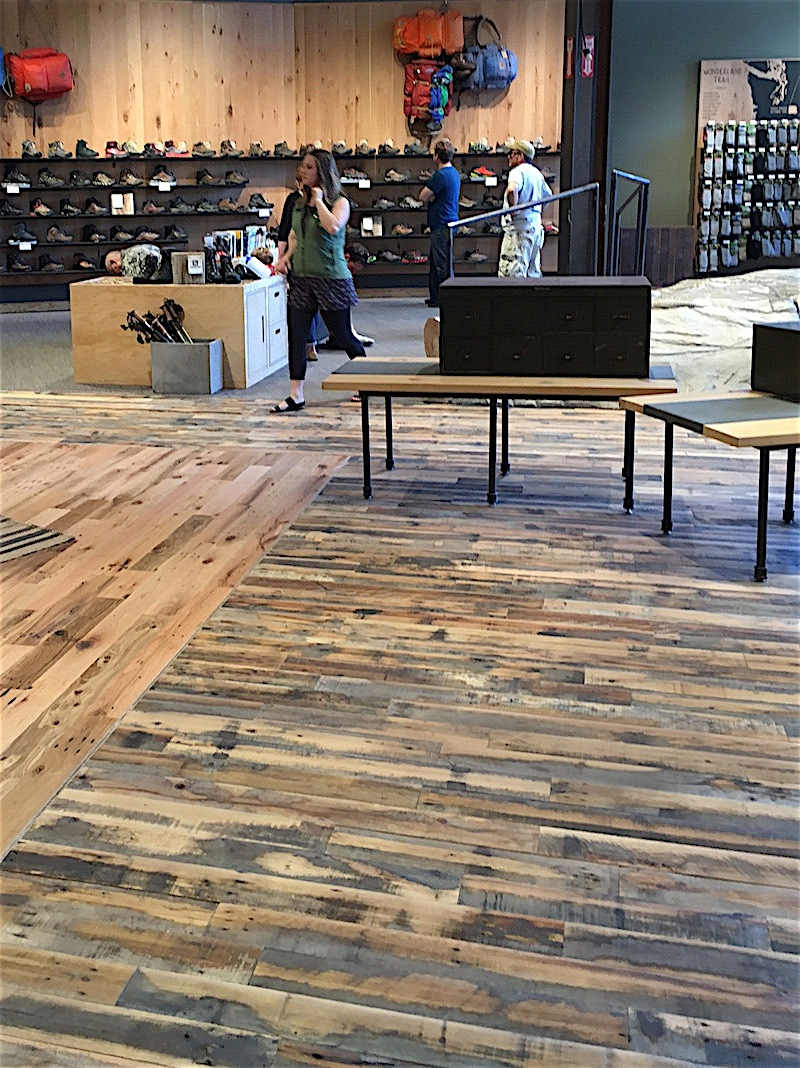 Reclaimed DIRTY FACE FLOORING & PANELING Installations