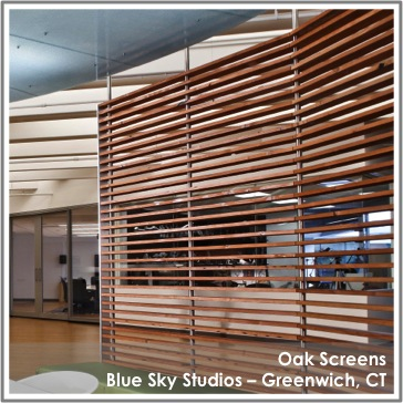 Reclaimed Oak Screens by TerraMai