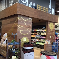 Reclaimed MC Walnut Paneling in Hadley Fruit store